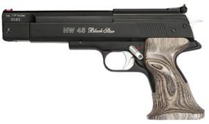 HW 45 Black Star Kal.4,50mm - Schichtholzgriff