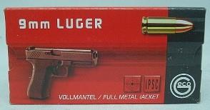 9mmLuger VM - 8,0g/124g/TOMBAK (a50)