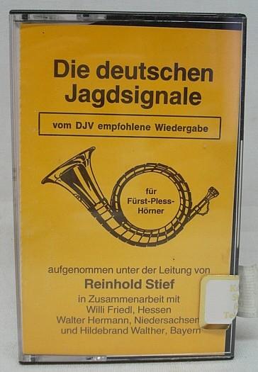 Kassette Deutschen Jagdsignale - Reinhold Stief