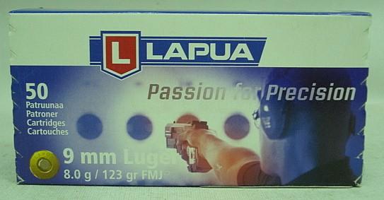 9mmPara VM - 8,0g/124gr (a50)schwach