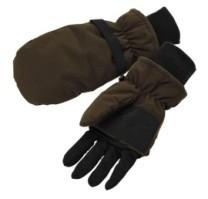 Mitten mit Fäustlingen - mit 5-Finger-Handschuh