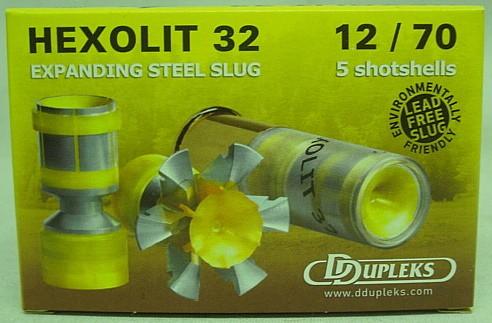 Ddupleks Hexolit 32 Kal.12/70 - bleifrei, 32.0 g / 495 gr /a5
