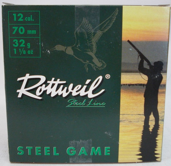 Steel Game 12/70 - 3,25mm/32g/a25/NormalBeschuss