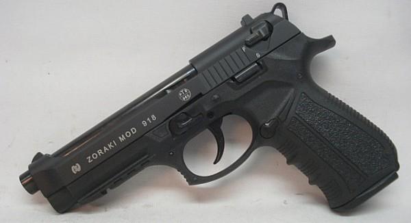 918 Kal.9mm P.A.K. - brüniert, 18 Schuss