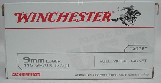9mm Luger VM - 7,45g/115gr (a50)#Q4172B#