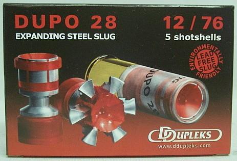 Ddupleks Dupo28 Kal.12/76 - bleifrei, 28 g / a5