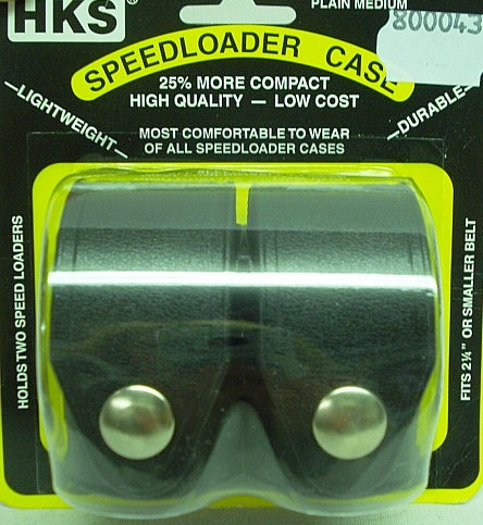 HKS Doppel-Speedloader-Tasche - Dupont Hytrel®, Gr.: M,