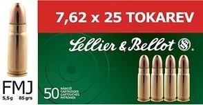 7,62x25Tokarev VM - 5,5g/85gr (a50)