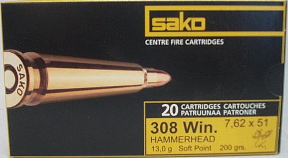 .308Win Hammerhead SP - 13,0g/200gr (a20)