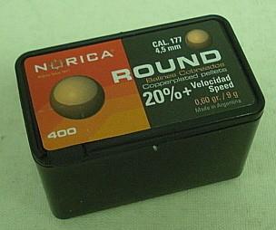 Rundkugeln 4,50mm - 8g/0,6gr (a400) verkupfert