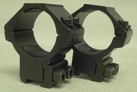 Montage 1Zoll/25,4-30mm Ring - 11mm Schiene, BH 40mm