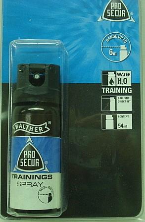 Trainingsspray Wasser - 54 ml