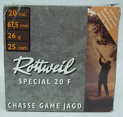 Special 20F 20/67,5 - 2,5mm/26g (a25)