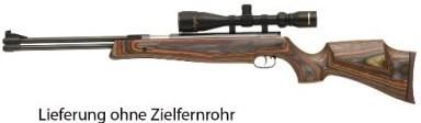 HW 77 Special Edition Kal.4,50 - Schichthol-Schaft,Unterhebel,F