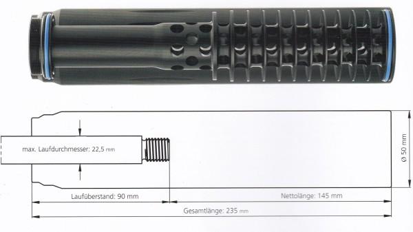 SOB 1 7,62mm(.30) - M15x1, OV