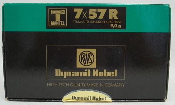 7x57R TMR - 9,0g/139gr (a20)