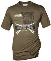 Rundhals Shirt - Keiler Hunting