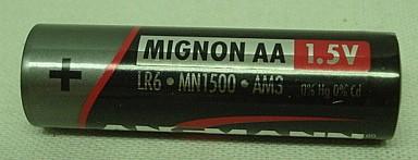 Batterie Ansmann Alkaline AA -