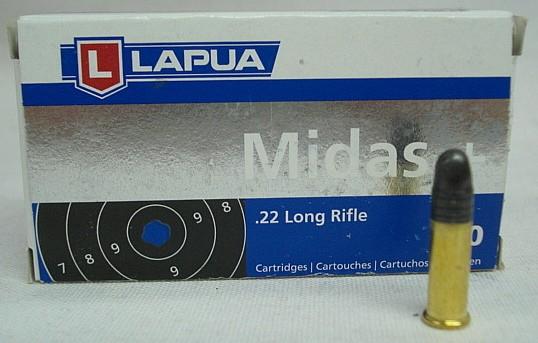 RF .22lr Midas+ - 2,59g/40gr (a50)