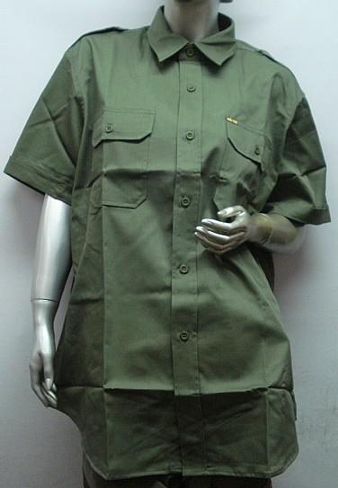 Tropen 1/2-Arm - 2 Brusttaschen mit Patte