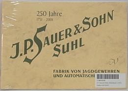 Buch J.P. Sauer & Sohn - Jagdgewehr-Fabrik