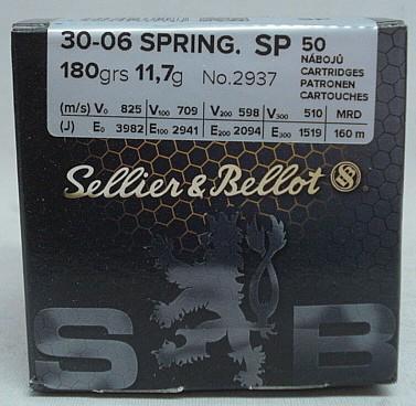 .30-06 SP-Target - 11,7g/180gr (a50)