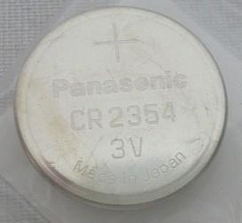 Batterie CR2354 - 3V / 560mAh