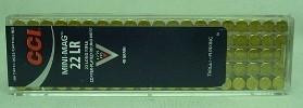 RF .22l.r. Mini Mag SP #1235FP - 2,59g/40gr (a100)verkupfert