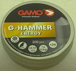 G-Hammer 4,5mm - 1g/15,4gr (a200)
