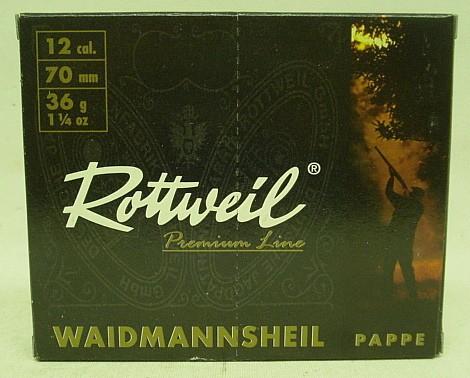 Waidmannsheil 12/70 - 4,0mm/36g -Pappe- (a10)