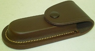 Lederetui braun - für Tame, 12 cm Grifflänge