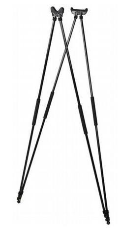 Zielstock 4-tlg - schwarz, Länge: 175 cm
