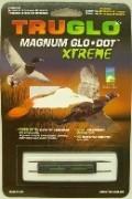TRUGLO Magnum X 1/4 Schiene - grün,zum kleben, 1,5 mm lang