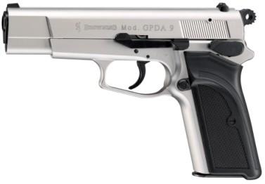 GPDA 9 Kal.9mm P.A.K - nickel