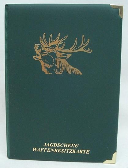 Jagdscheinetui Hirsch -