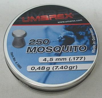 Mosquito 4,50mm - 0,48g/7,4gr (a250) Flachkopf