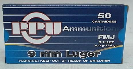 9mm Para VM - 8,0g/124gr (a50)#A-033