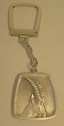 Schlüsselanhänger Steinbock -