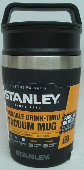Stanley VACUUM Trinkbecher - 236 ml, hält 2h heiß/4h kalt