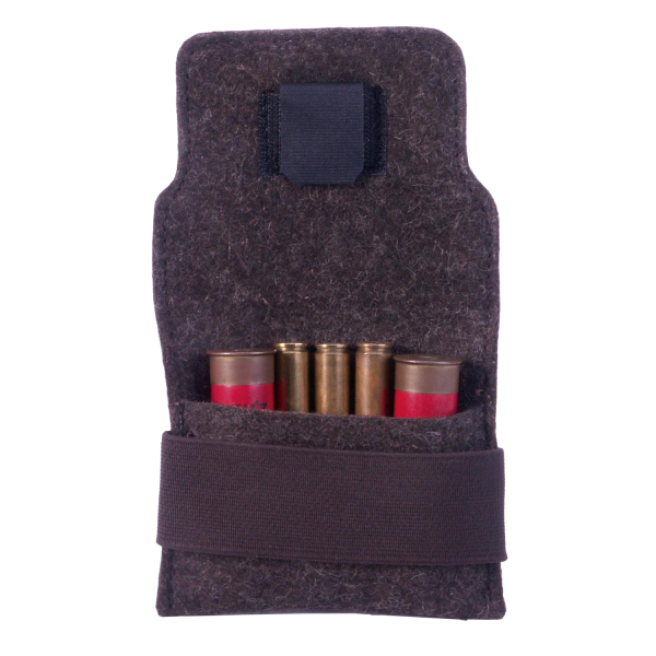Filzetui 3Kugeln/2Schrote - mit Batteriefach