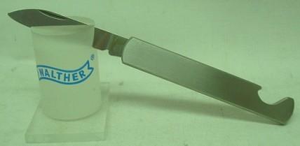 kleines Taschenmesser - Klinge:5,2cm, stainless,Öffner