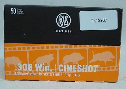 .308Win CINESHOT - 9,0g/147gr (a50)