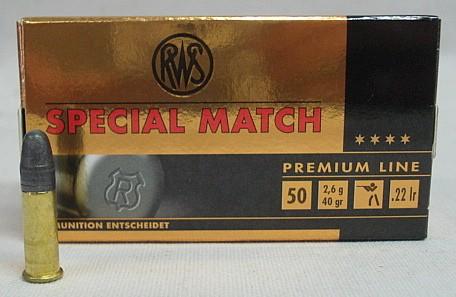 RF .22l.r. Spezial Match - a50