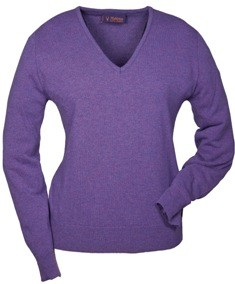 Damen Pullover V-Ausschnitt -