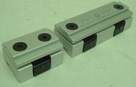 Anschütz Visierlinienerhöhung - 13-28mm Höhe, Seite 5mm