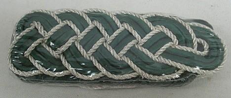 Schultergeflecht 5-bogig-silberfarbigen Metallgespinst