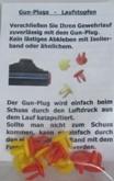 Laufstopfen Gun Plug 10er - Pack, für Kaliber 7mm - 9,3mm