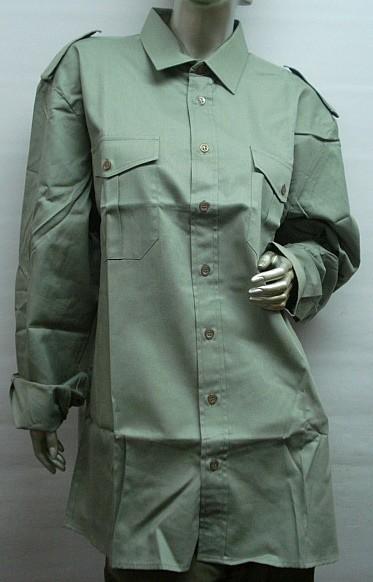 Uni 1/1-Arm - 2 Brusttaschen mit Patte