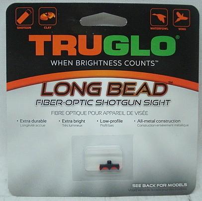 TRUGLO Long Bead M3,0 rot - schrauben,13mm Metallkörper