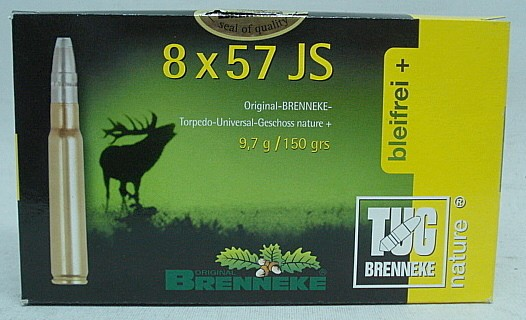 8x57IS TUG nature+ - 9,7g/150gr (a20)